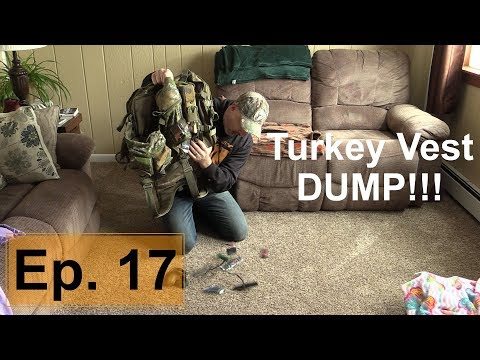 Turkey Vest Dump | Wild Bout Huntin