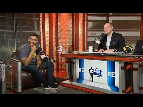 "NFL Star-Turned-Actor Nnamdi Asomugha of ""Crown Heights"" Joins The Rich Eisen Show In-Studio"