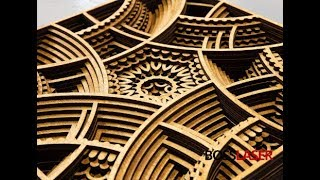 Laser Cutter - Wood - 3D Multi Layered Art Piece / Wall Art Piece - Download