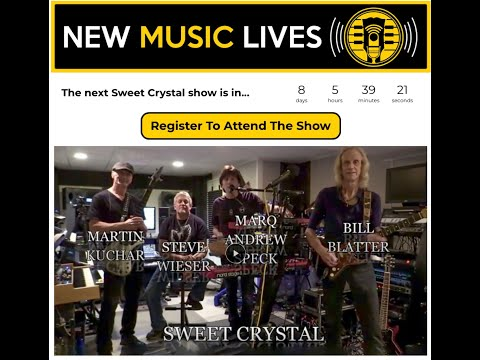 Sweet Crystal Live Stream From Nightcrier Studios 2020