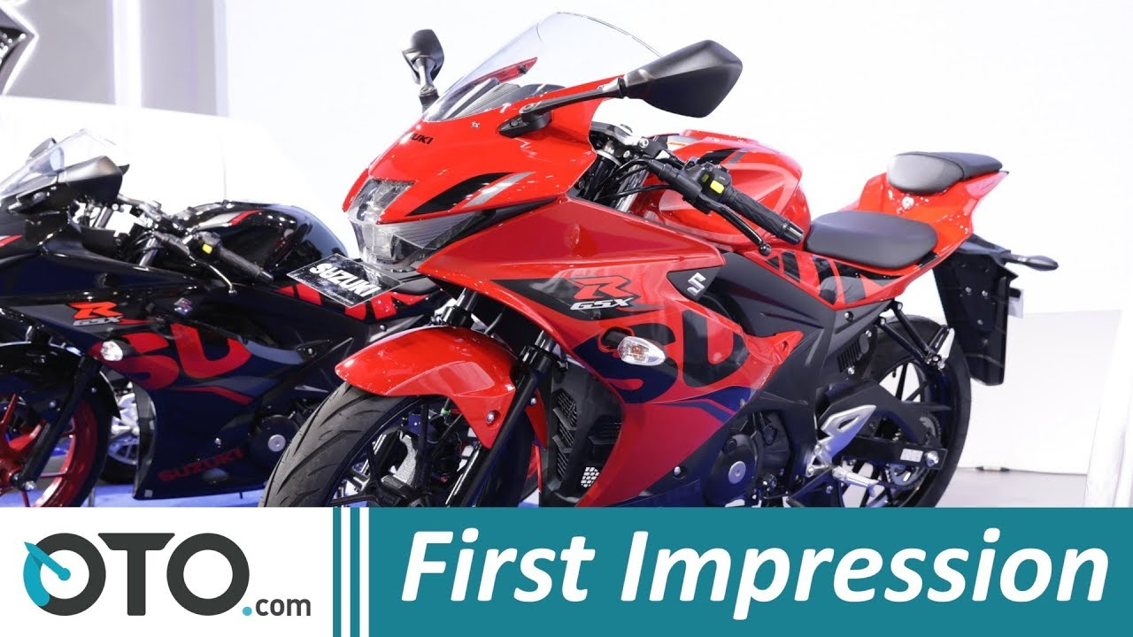 Suzuki Gsx R150 First Impression Warna Baru Iims 2018 Oto