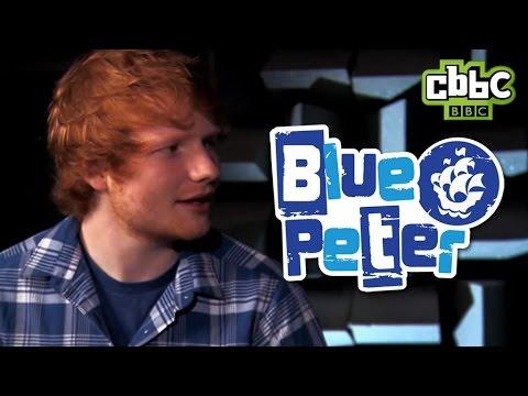 Ed Sheeran's tips on being a pop star - CBBC Blue Peter