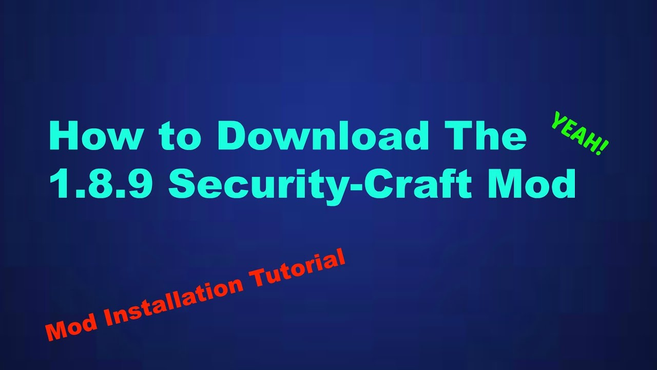 minecraft security mod 1.7 10 download