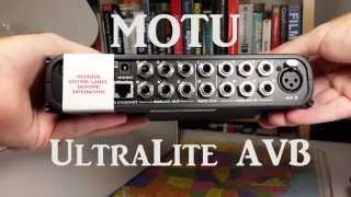 MOTU UltraLite AVB