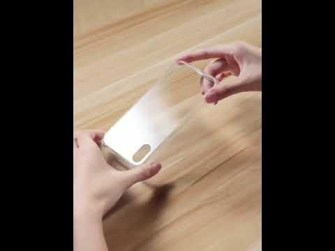 【暢銷低價 全透玻璃殼】iPhone 11/pro/X/7/8&Plus TPU 保護殼 軟殼全包邊 鋼化9H玻璃手機殼
