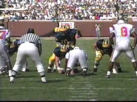 1992: Michigan 35 Oklahoma State 3