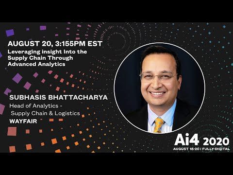 Leveraging insight into the Supply Chain through advanced analytics