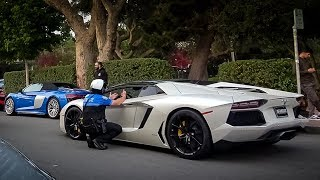 COPS HATE EXPENSIVE SUPERCARS Mega Compilation 2