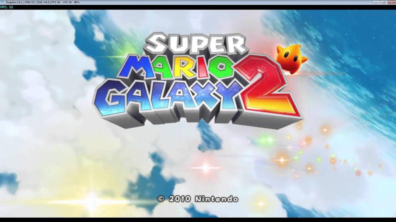 Super Mario Galaxy 2 Dolphin 5.0 vs Wii comparison