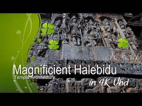 Magnificient Halebidu Temple Architecture