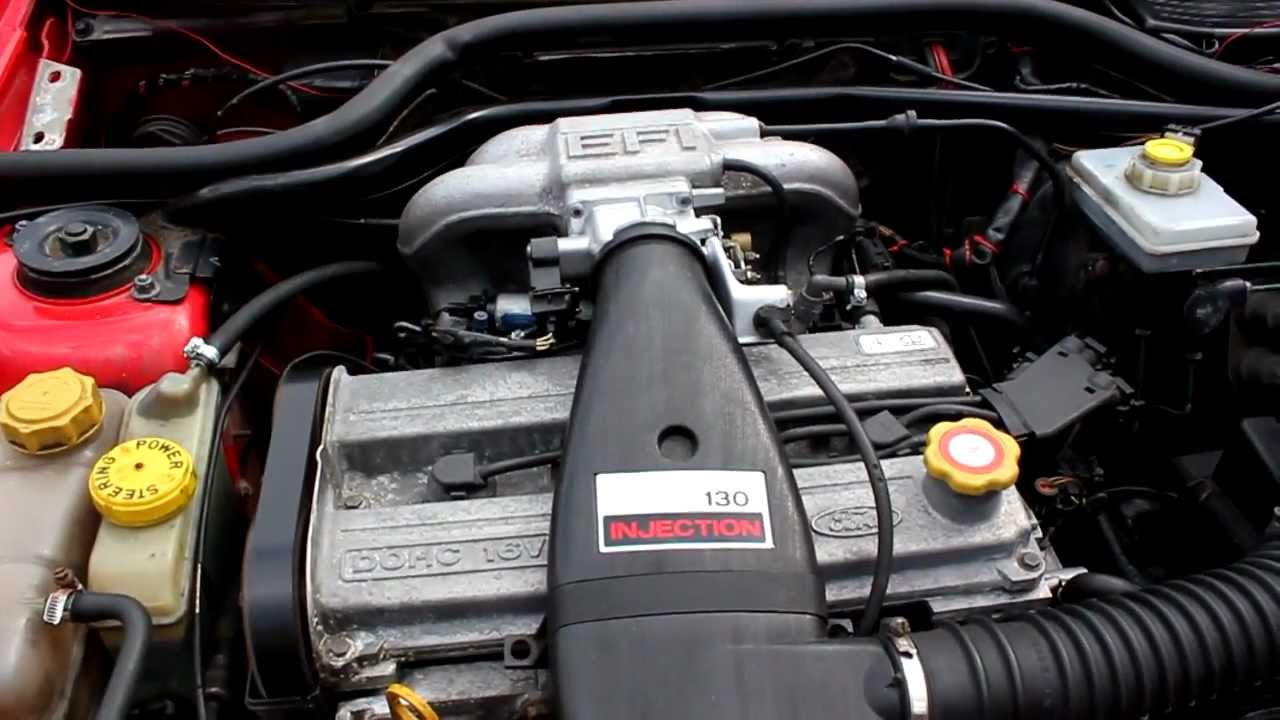 escort xr3i engine