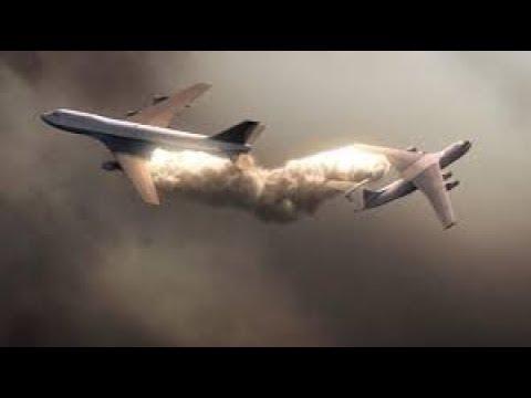 Saudi Flight 763/Kazakhstan Airlines Flight 1907 - Crash Animation