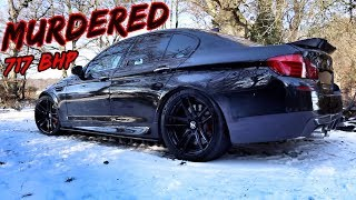 THIS 717BHP MURDERED *BMW M5* IS A WIDOW MAKER!!!