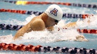 2014 kevin cordes 100 yard breaststroke american ncaa record 50 04