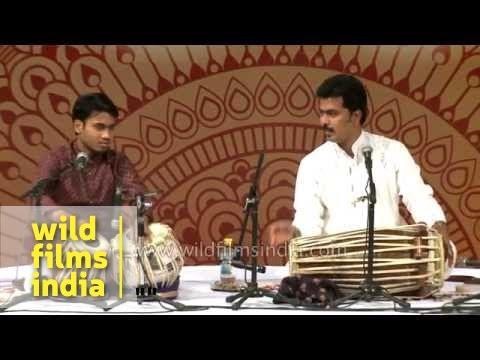 Indian classical redefined - Tabla Pakhawaj speedster jugalbandi