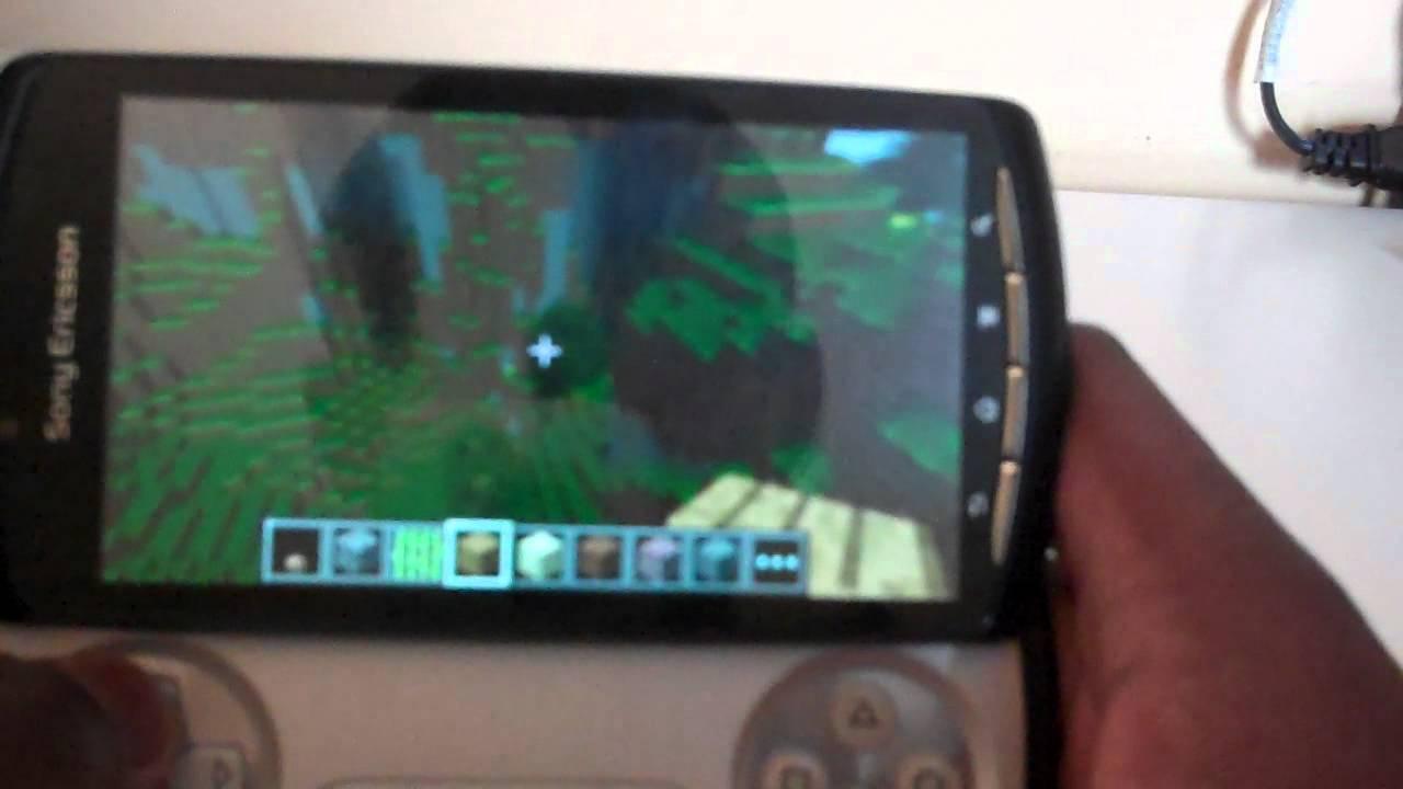 sony erickson xperia play minecraftpocket edition