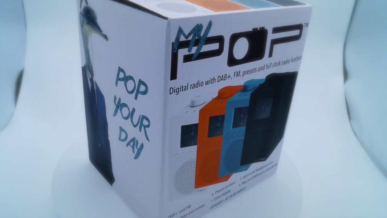 09ccafffe MyPOP-Deluxe Portable DAB + with color display | The Home of POP