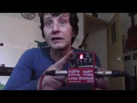 Boss RC-3 and 2 Loop Pedals- Using, making Loops,controls.