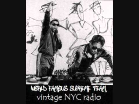 World Famous Supreme Team vintage NYC radio