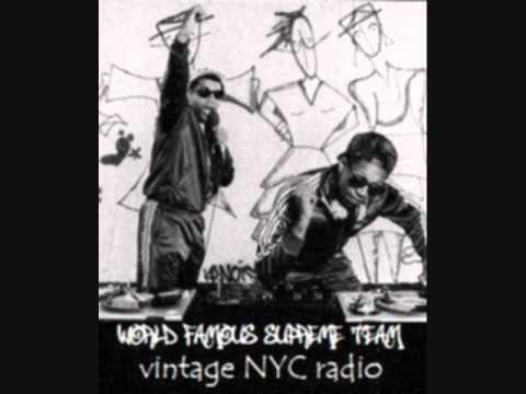 World Famous Supreme Team vintage NYC radio
