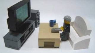 How To Make Lego Furniture.