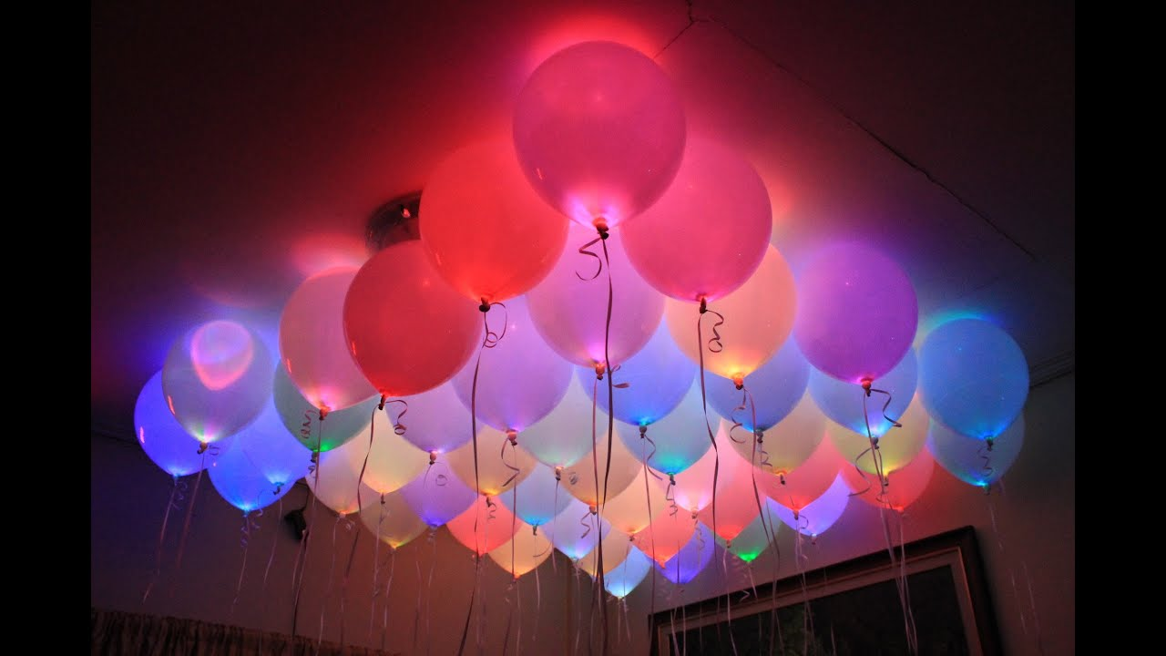 Amazing HELIUM Quality LED Balloons - YouTube