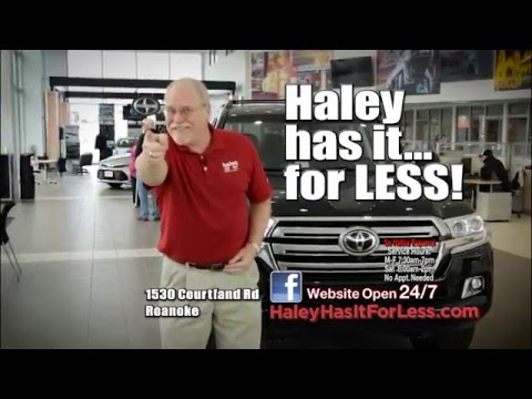Haley Toyota March Savings   Roanoke VA