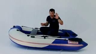 СТЕЛС 255 АЭРО - Самая маленькая лодка с НДНД? Обзор моторной лодки