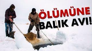 20 Santim Buz Üstünde Eskimo Usulü Balık Avı