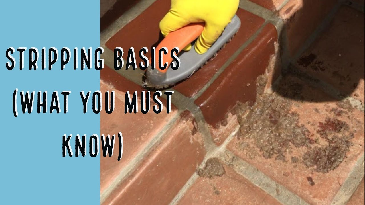 How to remove coatings from outdoor terracotta tile floors youtube how to remove coatings from outdoor terracotta tile floors dailygadgetfo Choice Image