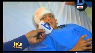 العاشرة مساء|جريمة بشعة بالدقهلية مدرس يصيب طالب إصابات خطيرة فى الرأس