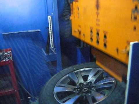 Тест на удар (обод) - колесные литые диски на Toyota (Тойота).WSP Italy W1765 VENERE