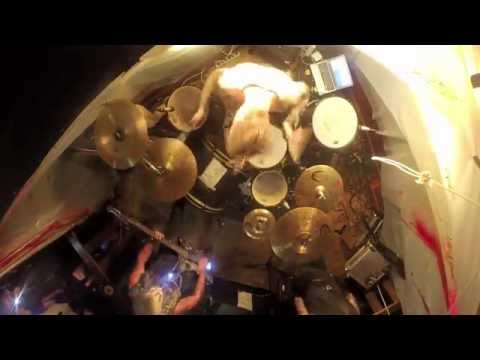 "Niko ""Hoker Dine"" Hyttinen drum cam, Cold Cold Ground 'Funeral Show', full set."
