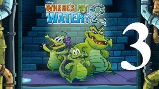 Where's My Water 2 Level 3: Split Second Decision 3 Ducks iOS Walkthrough