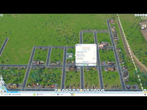 Sim City 2013 Drilling for Oil Strategy Tutorial part 1