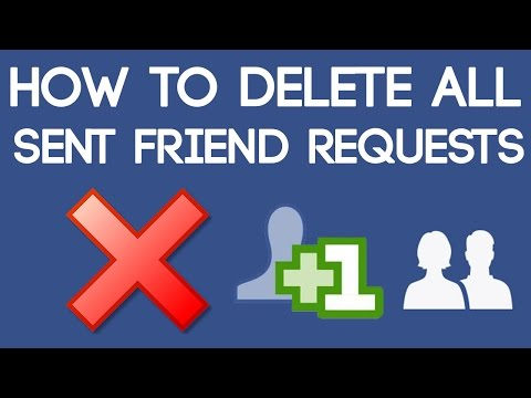 How to Delete All Sent Friend Requests on Facebook at Once 2017 [100% Working Trick]