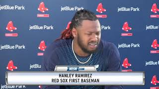 Hanley Ramirez Is On The TB12 Method