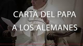 Carta del Papa a los Alemanes