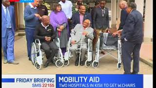 Manu Chandaria foundation leads in mobility aid drive in Kisii