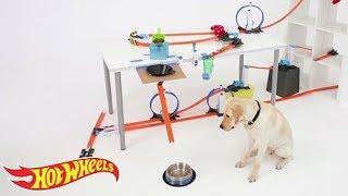 Hot Wheels Hacks: Машинки кормят щенка!