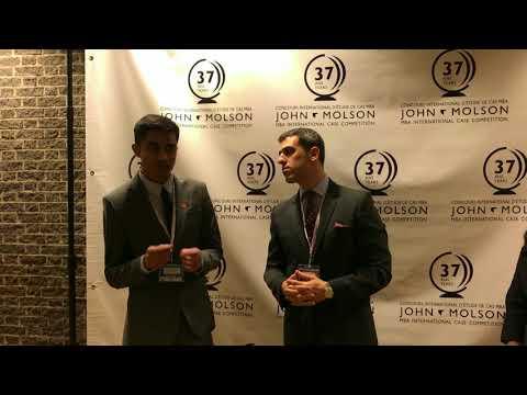 JMSB International Case Competition interview Brock University