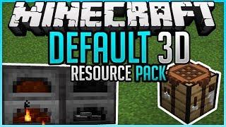 Default 3D + Download ✨ Resourcepack Spotlight ✨ Minecraft 1.14.3 ✨ErikOnHisPeriod