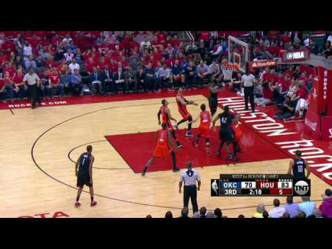 Oklahoma City Thunder at Houston Rockets - April 16, 2017