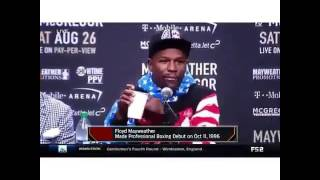 Floyd mayweather Funny Interview