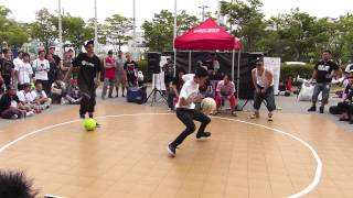 Download Video circle2013 #37 BlockB Final TAKURO vs KAMIKAZE (Freestyle Basketball Battle) MP3 3GP MP4