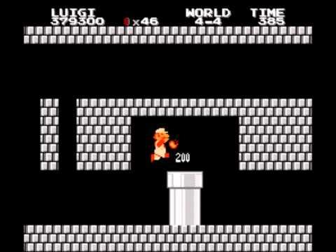 All Night Nippon Super Mario Bros Luigi