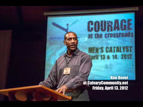 Very Powerful Testimony from Ken Bevel of the movie Courageous 13Apr2012