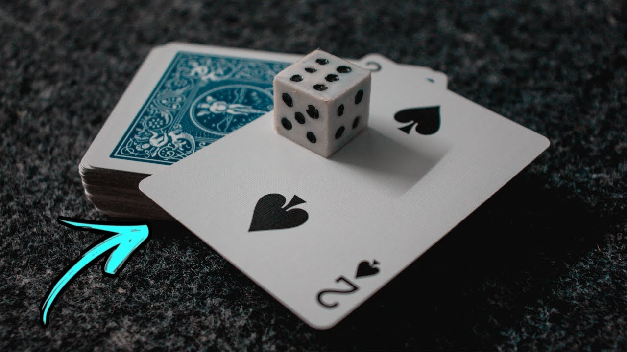 learn this super easy card  dice magic trick  youtube