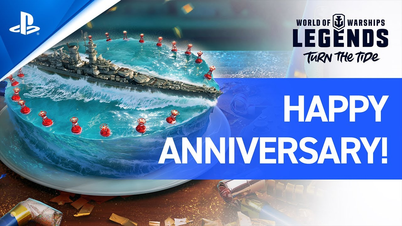World of Warships: Legends – Happy Anniversary, Legends! | PS4