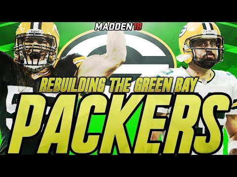 Rebuilding The Green Bay Packers   Madden 18 Connected Franchise Rebuild   Mr. Personality